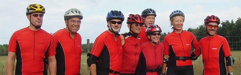 Die Rolling-Oldies-Mannschaft Lausitz 2007